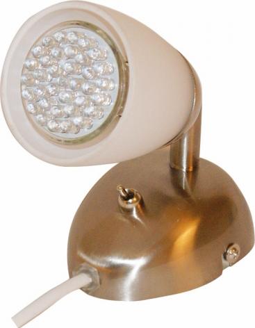 Ladattava LED-valokiekko PureFlare, Valkoinen